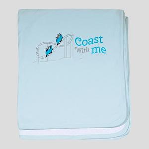 Coast With Me baby blanket