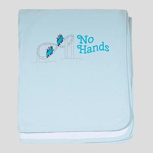No Hands baby blanket