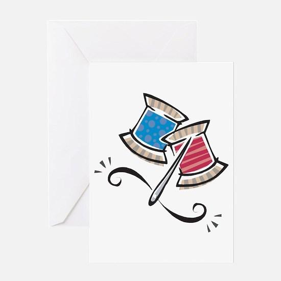 Cute Needle & Thread Design Greeting Card