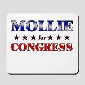 MOLLIE for congress Mousepad
