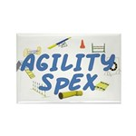 SpEX Agility Title Rectangle Magnet (10 pack)