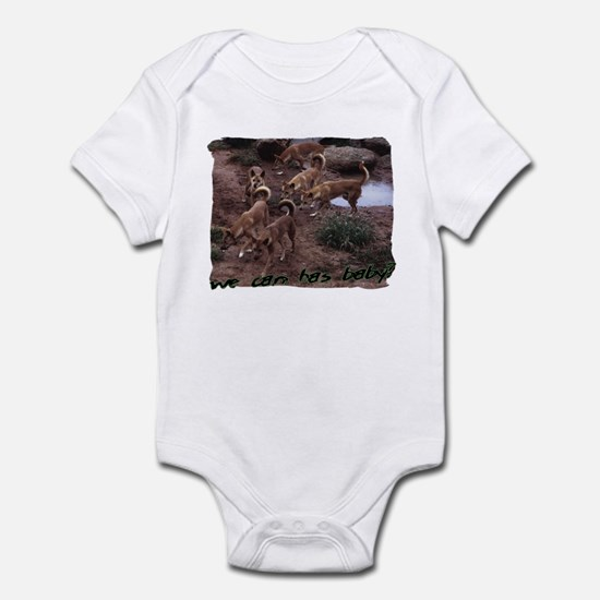 can has baby Infant Bodysuit