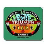 Triumph at the IEP Mousepad
