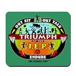 Triumph at the IEP Mousepad