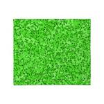 Martian Green Throw Blanket
