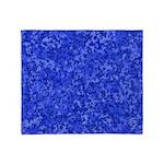 Martian Blue Throw Blanket