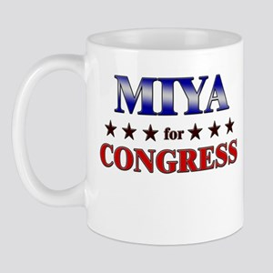 MIYA for congress Mug