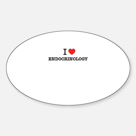 I Love ENDOCRINOLOGY Decal
