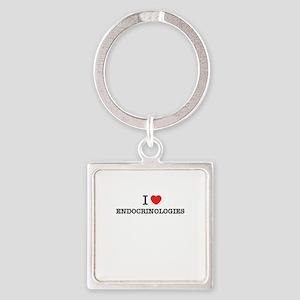 I Love ENDOCRINOLOGIES Keychains