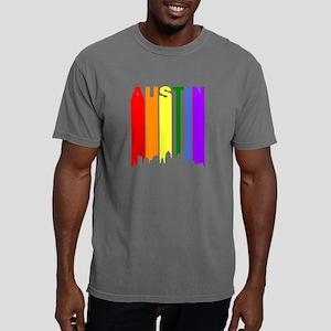 Austin Gay Pride Rainbow Cityscape T-Shirt