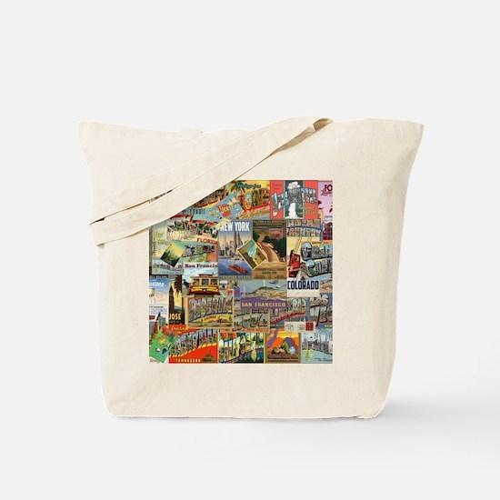 Cute Vintage Tote Bag
