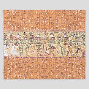 Egyptian House King Duvet