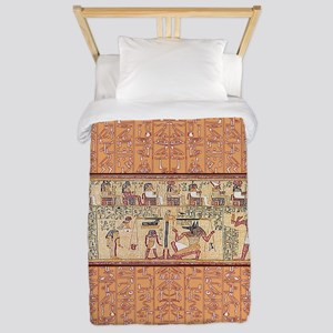 Egyptian House Twin Duvet