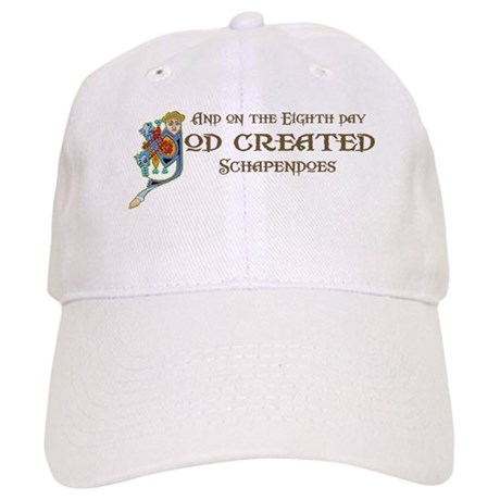 God Created Schapendoes Cap