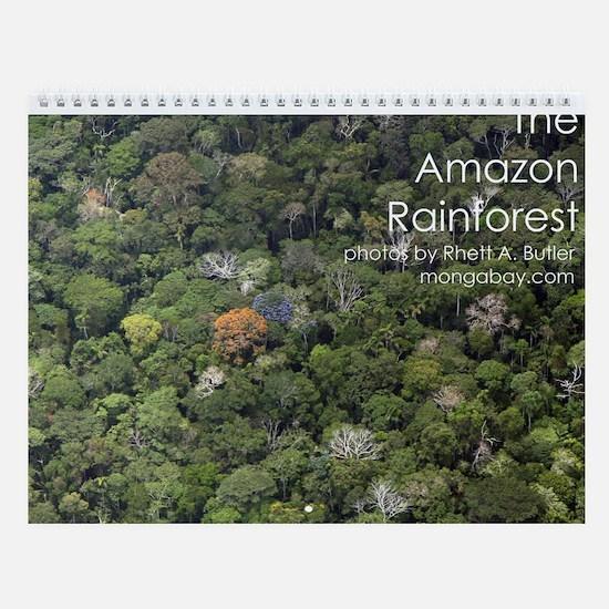 Amazon Rainforest Wall Calendar
