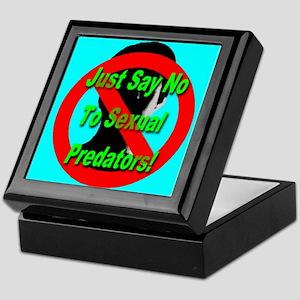 Just Say No To Sexual Predato Keepsake Box