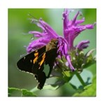 Silver-spotted Skipper Tile Coaster