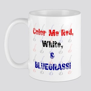 Red White & Bluegrass! Mug