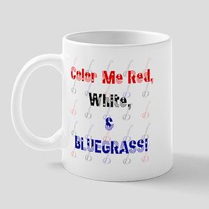 Red White & Bluegrass! Mug