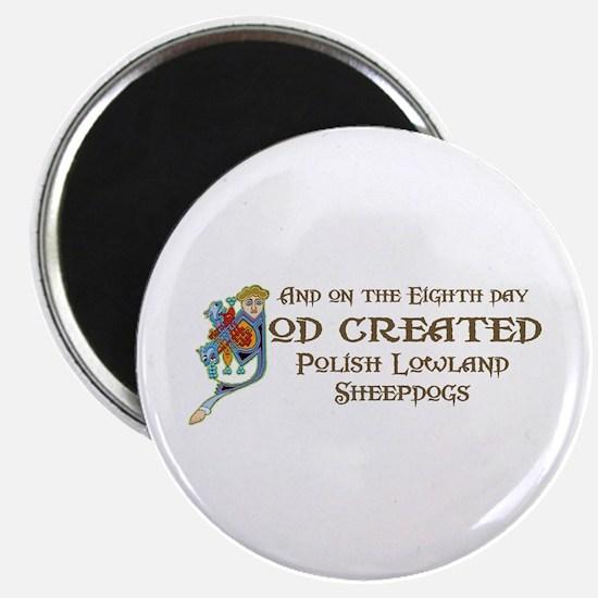 God Created PLSs Magnet