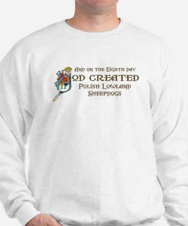 God Created PLSs Sweatshirt