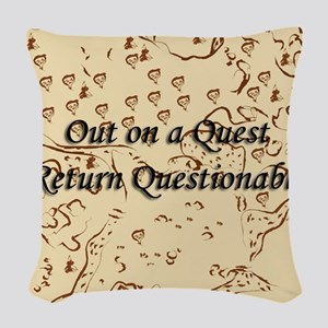 Quest Woven Throw Pillow