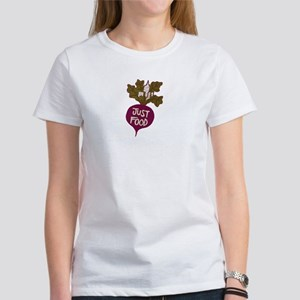 Just Food Organic Cotton Tee T-Shirt