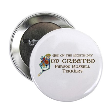 """God Created Terriers 2.25"""" Button (10 pack)"""
