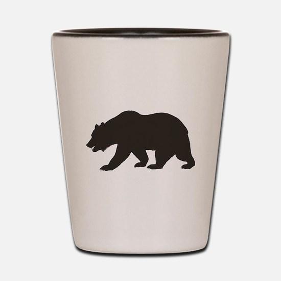 Cali Bear Shot Glass