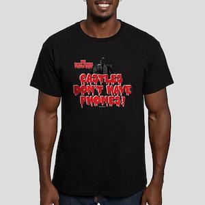 Rocky Horror Castles Men's Fitted T-Shirt (dark)