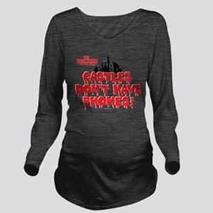 Rocky Horror Castles Long Sleeve Maternity T-Shirt