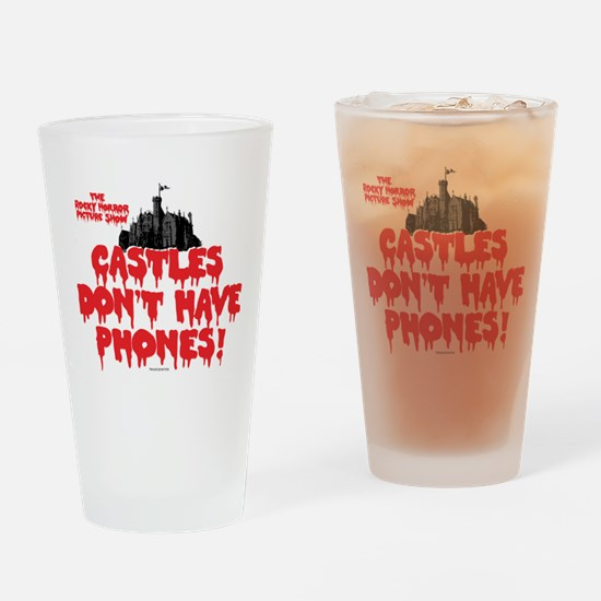 Rocky Horror Castles Drinking Glass