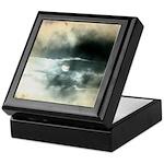 Sun Through Storm Clouds Keepsake Box
