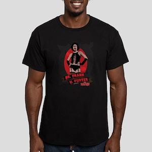 Rocky Horror Dr Frank- Men's Fitted T-Shirt (dark)