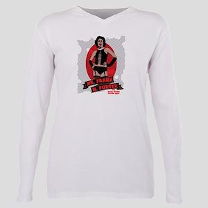 Rocky Horror Dr Frank-N- Plus Size Long Sleeve Tee