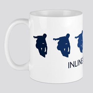 Inline Skating (blue variatio Mug