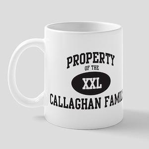 Property of Callaghan Family Mug