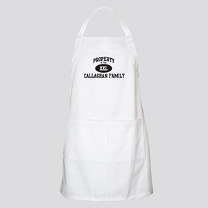 Property of Callaghan Family BBQ Apron