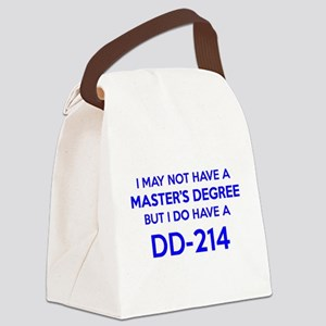 DD214 ~ Discharge Form ~ DD-214 Canvas Lunch Bag