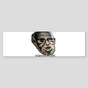 VINTAGE ANGRY GRANDPA TSHIRT Bumper Sticker