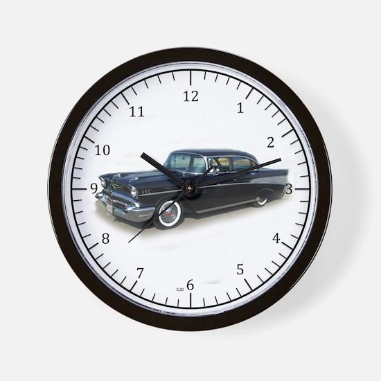 1957 Chev Bel Air Wall Clock