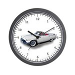 1957 Ford Thunderbird Wall Clock
