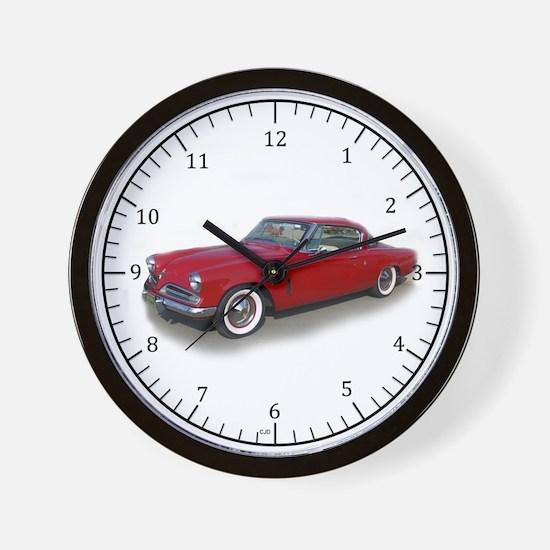 1953 Studebaker Wall Clock