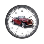 1950 Jeepster Wall Clock