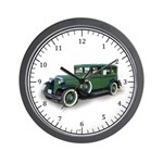 1931 Crysler Silverdome Wall Clock