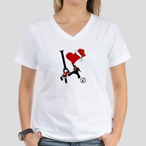 Hi! Christmas Women's V-Neck T-Shirt