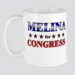 MELINA for congress Mug