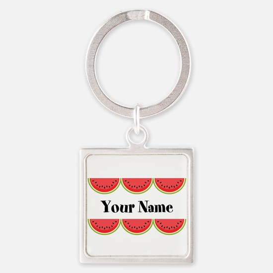Watermelons Personalized Keychains