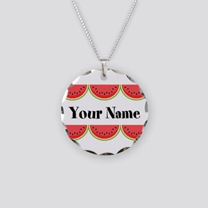 Watermelons Personalized Necklace