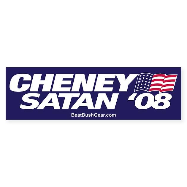 dick cheney bumper stickers